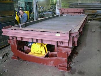 Термо-вибро стенд для производства дорожных плит ПДН-14