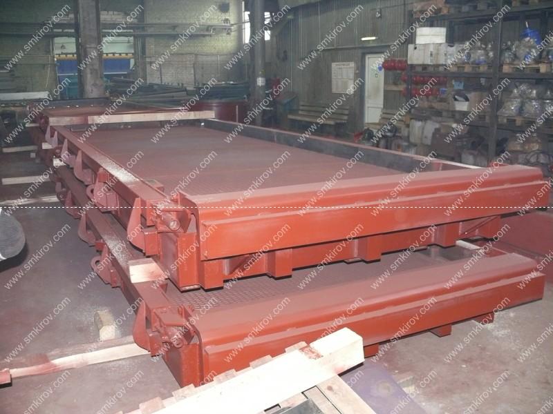 Металлоформа для аэродромных плит ПАГ