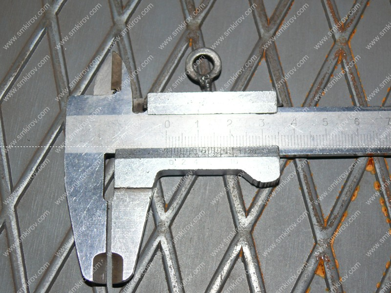 Форма для плит ПАГ высота рифа 1,5-2 мм