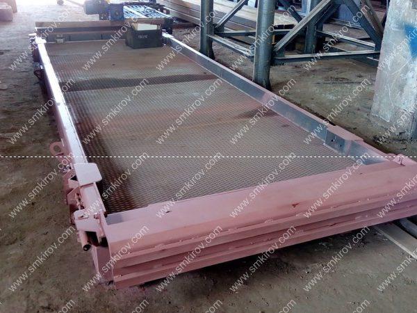 Металлоформа для аэродромной плиты ПАГ 14 матричная