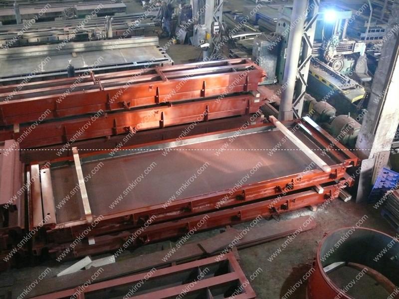 Металлоформа для плит ПАГ