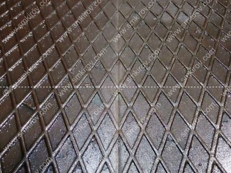 Форма для плит ПАГ 14 стык рифленого листа на поддоне