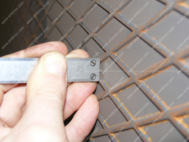 Форма для плит ПАГ высота рифа 1,7 мм