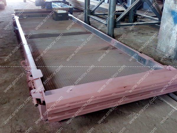 Форма матричная для дорожных плит ПДН,м 14