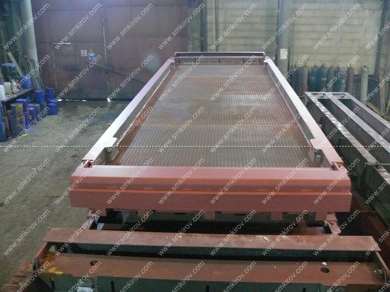 Металлоформа для плиты 1П60.19-30АV по ГОСТ 21924.1-84