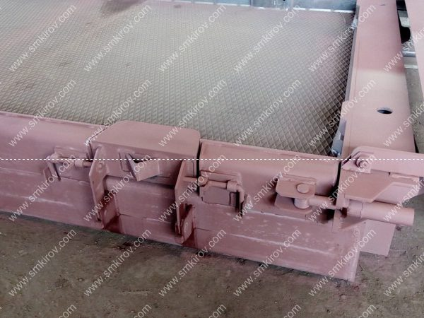 Металлоформа матричная для преднапряжённой дорожной плиты ПДН,м