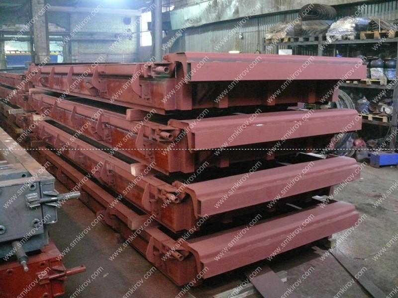 Металлоформы для дорожных плит ПДН с напряжённой арматурой