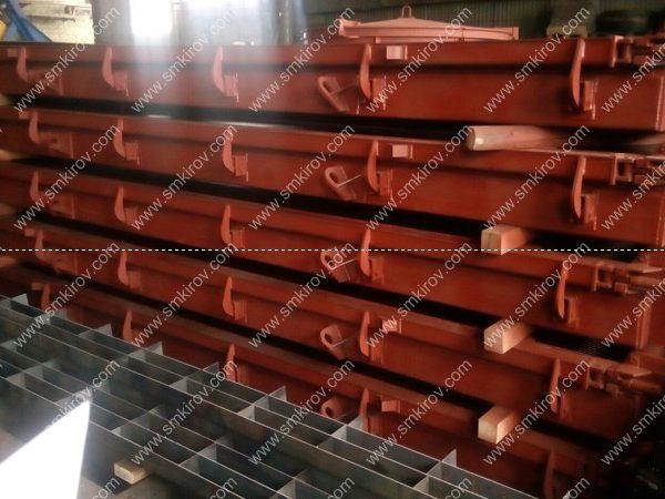 Металлоформы для ненапряженных дорожных плит по ГОСТ 21924-84