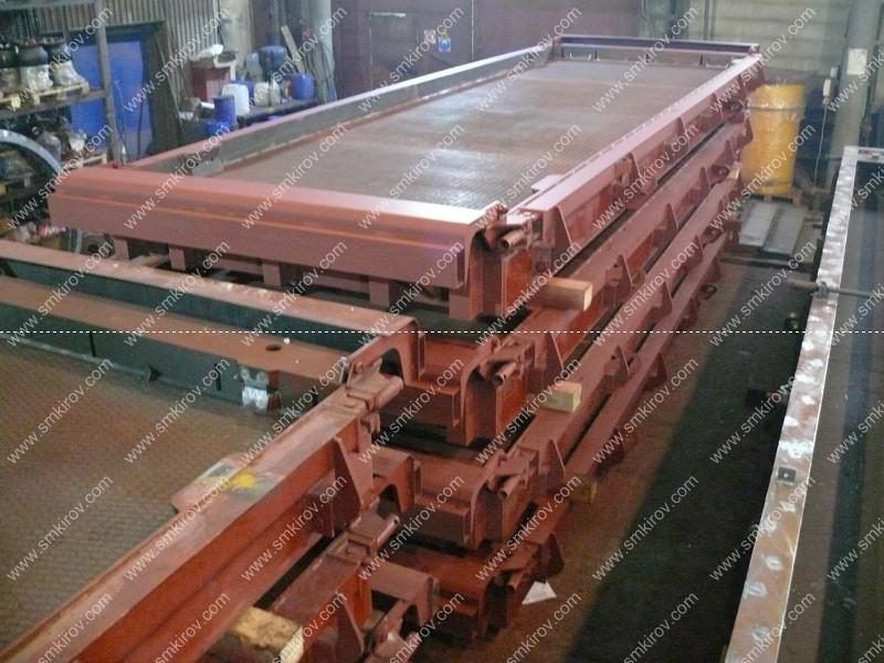 Металлоформы для плит дорожных покрытий ПДН