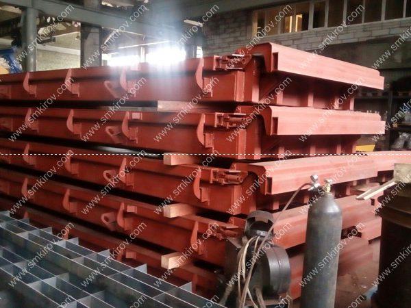 Металлоформы для жлезобетонных дорожных плит по ГОСТ 21924.1-84