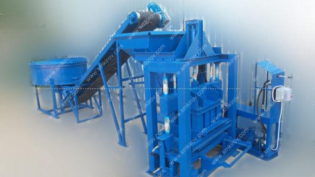 2 Оборудование для арболита вибропресс Скала-Арболит с составе механизированной линии