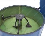 Бетоносмеситель СБ-мини 180 на 380 Вольт с полиуритановой броней бака смесителя