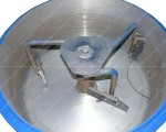 Бетономешалка СБ-мини 80 на 220В лопатки и скребки
