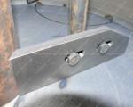 Бетоносмеситель СБ-мини 80 на 220В лопатка внутренная
