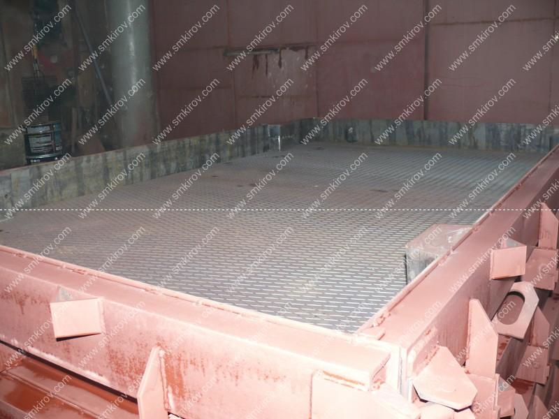 Форма для дорожной плиты 2П30.18 рифление листа