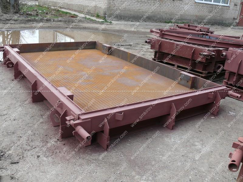 Металлоформа для дорожной плиты 2П30.15