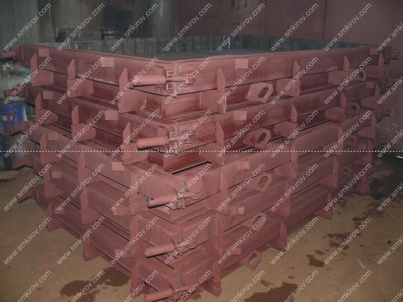 Металлоформы для дорожной плиты 2П30.18