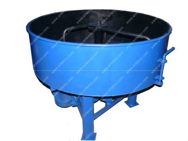 Принудительный бетоносмеситель (растворосмеситель) СБР350