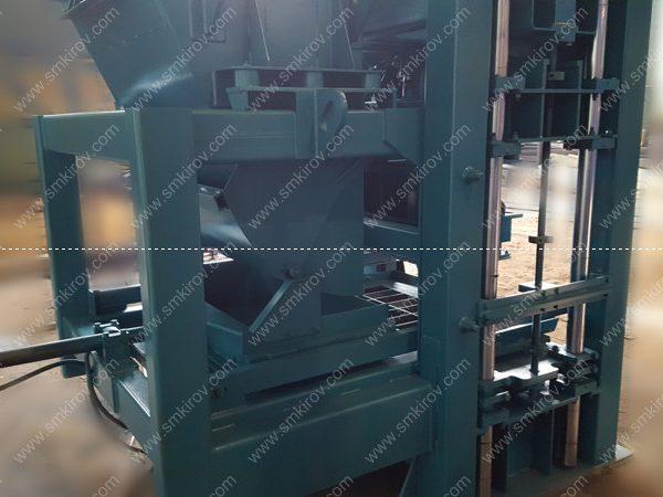 Вибропресс для блоков, брусчатки бордюра Скала-Профи 5