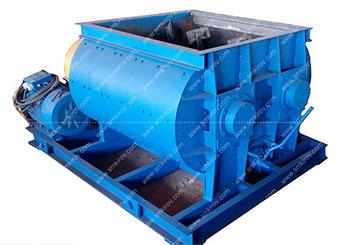 Двухвальный бетоносмеситель БП-2Г-500 (без скипа)