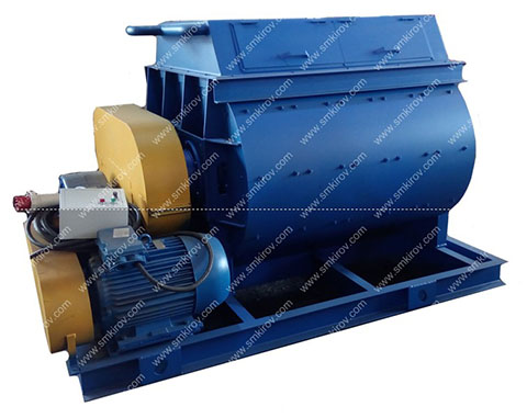 Двухвальный бетоносмеситель БП-2Г-1600 (без скипа)