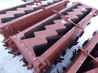 Металлоформы для производства лестничных маршей, площадок, ступеней