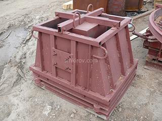 Формы панели ограждений (металлоформы для заборов)
