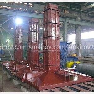 Металлоформы для производства унифицированных фундаментных конструкций по типовой серии 3.407-115 (фундаменты опор ВЛ)