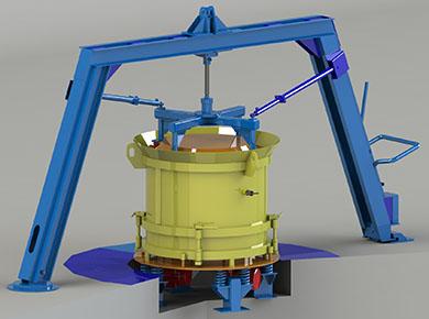 Оборудование для производства колец «Вибропресс-КС»