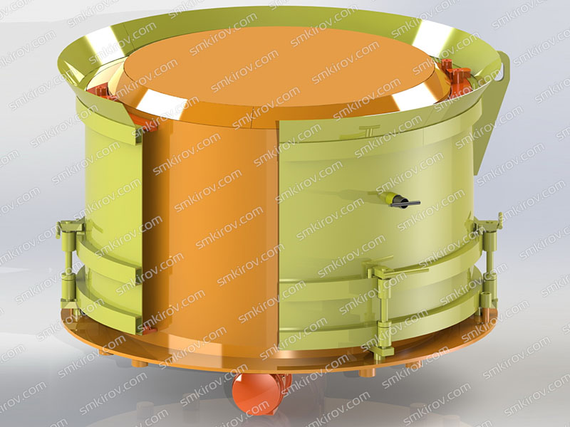 Вибропресс для колец - Оснастка для бетонного кольца