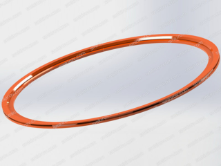 Вибропресс для производства колец - Поддон для бетонного кольца