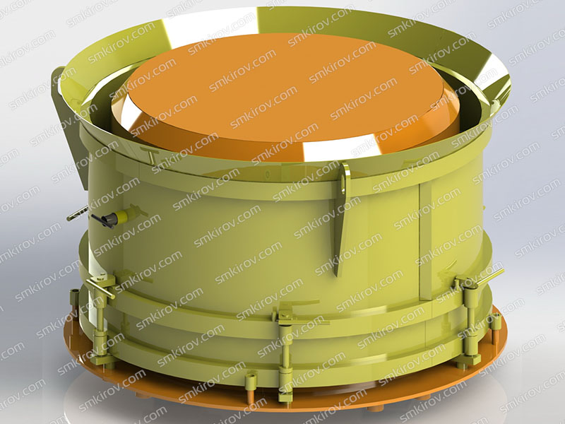 Опалубка для производства колодезного кольца