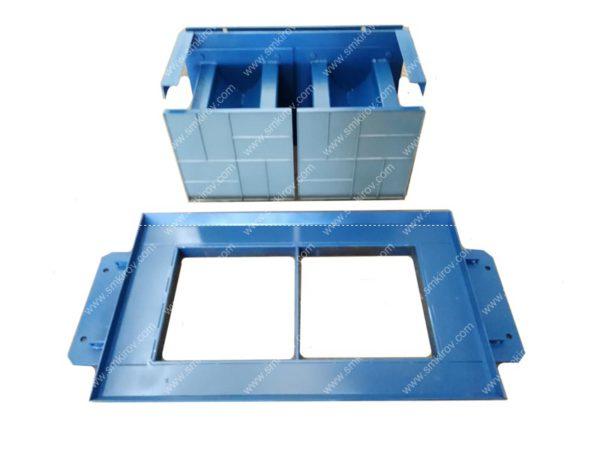 Матрица-пуансон плитка квадрат 400х400