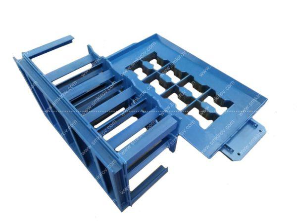 Пуансон плитка двойное т для вибропресса Скала 10М (катушка)