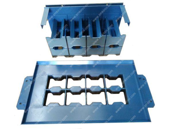 Пуансон плитка двойное т на 4 изделия (катушка)