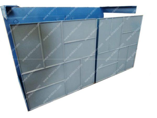 Пуансон плитка квадрат 400х400 на 2 изделия