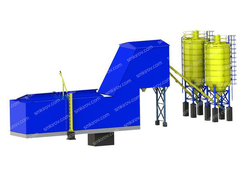 Зимний бетонный завод РБУ-ICE