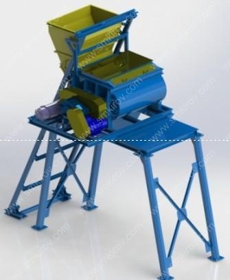 Мини бетонный завод РБУ-мини БП-2Г