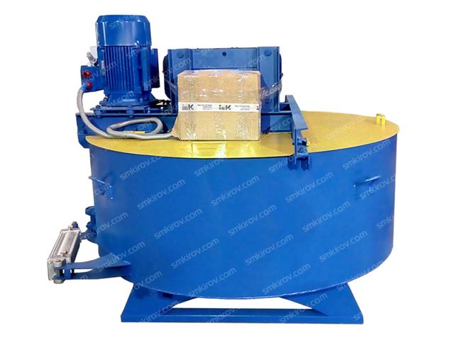 Бетоносмеситель принудительного действия СБ 80-7.5 на 750 литров, с броней, без скипа