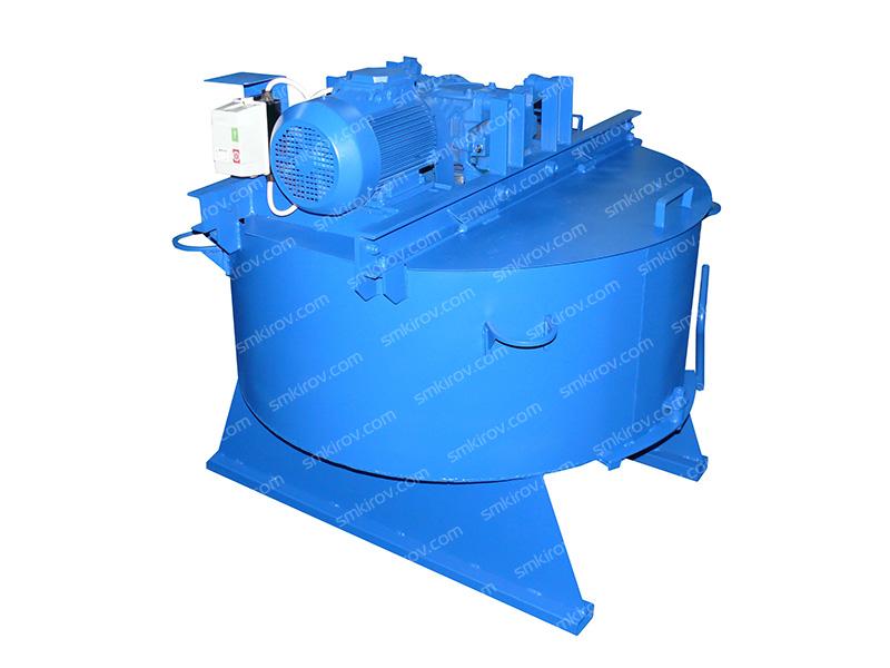 Бетоносмеситель принудительного типа СБ 80-04 250 литров, без скипа