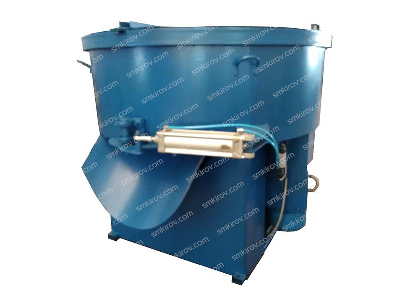 Бетоносмеситель принудительного типа СБ 80-10Н (1000 литров, с броней, пневмоприводом затвора)