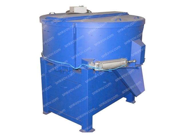 Бетоносмеситель СБ-1000 с пневматическим приводом затвора