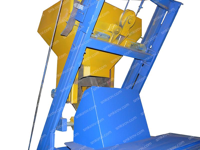 Бетоносмеситель СБ-375С со скипом