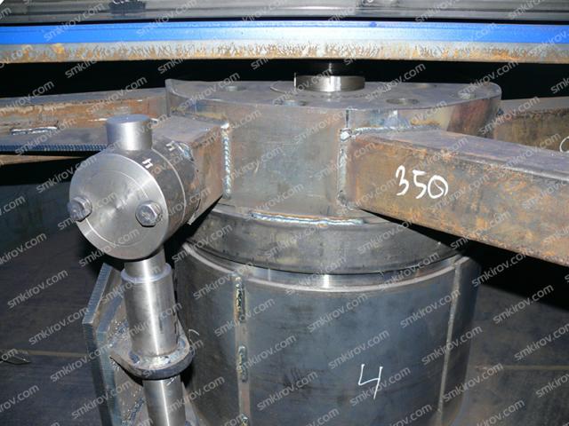 Бетоносмеситель СБ-500 (без скипа)