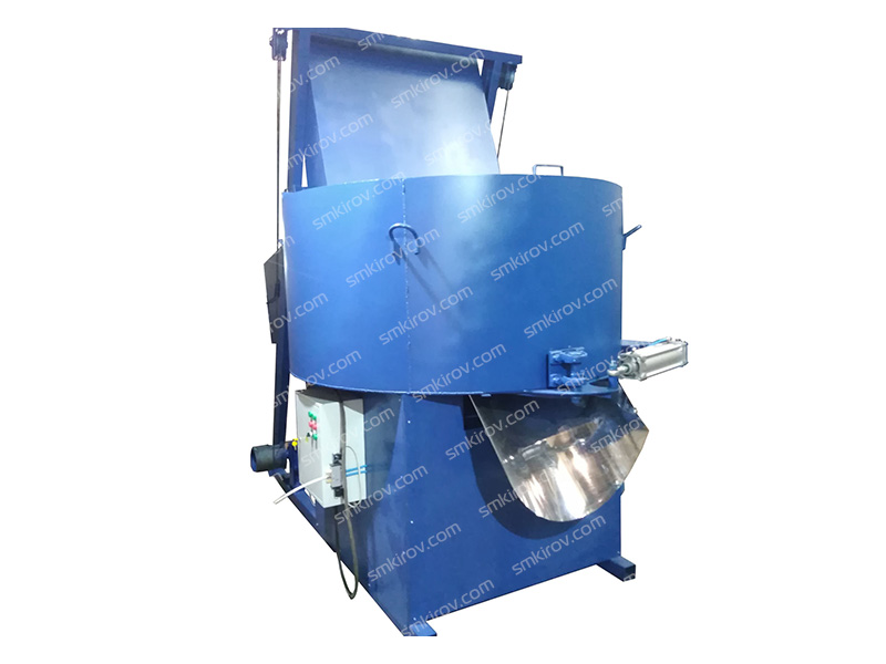 Принудительный бетоносмеситель СБ 80-15НС (1500 литров, бак из нержавейки, со скипом 500 литров)