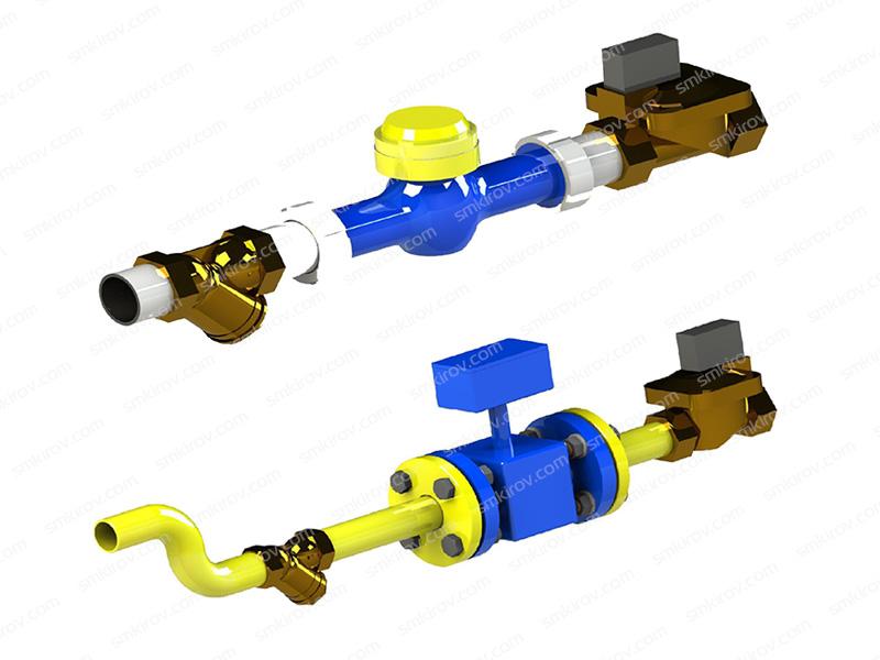 Дозатор воды проточный SMX ДВП и ДВП-Р