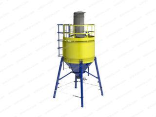 Силос цемента цельносварной СЦС-12