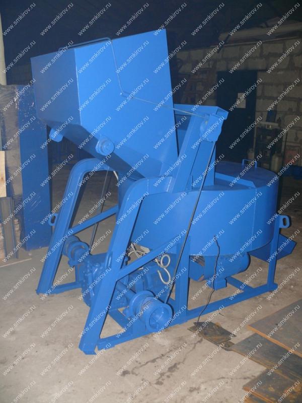 Бетоносмеситель СБ-медиум 375С со скипом