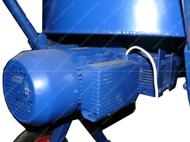 Бетономешалка СБ-мини 120 на 220 Вольт электропривод