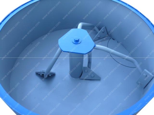 Бетоносмеситель СБ-мини 180 на 380 Вольт лопатки и лопасти